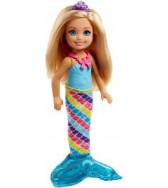 Кукла Barbie Челси фея русалка FJD00