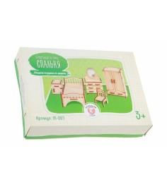 Набор кукольной мебели Большой слон Спальня М-001