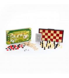 Набор настольных игр 5 в 1 удачная партия Bondibon ВВ0683