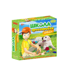 Игровой набор французские опыты науки с буки школа дрессировки собаки Bondibon ВВ1437