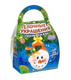 Набор для творчества шар подарок снеговичок Bondibon ВВ2138