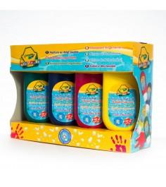 Смываемые краски для рисования пальцами 4 шт Crayola 3239