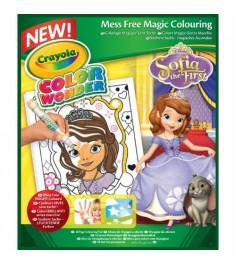 Раскраска софия прекрасная Color Wonder Crayola 75-2293 (75-0249)