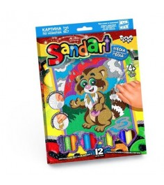 Фреска из песка sand art енотик Danko toys SA-01-02