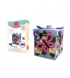 Набор для вышивания шкатулка бабочка Делай с мамой 33613
