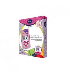 Набор для творчества шьем чехол для мобильного из фетра кошечка Делай с мамой 65681
