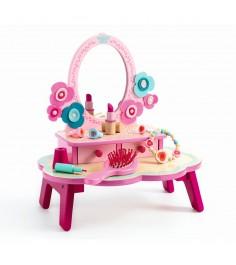 Набор Djeco Туалетный столик розовый 6553