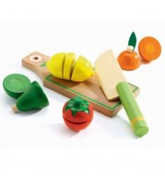 Игровой набор для разрезания Djeco Фрукты и овощи k06526