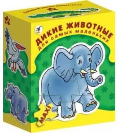 Игра для самых маленьких Дрофа дикие животные 1085