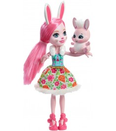 Кукла Enchantimals Bree Bunny с питомцем DVH88