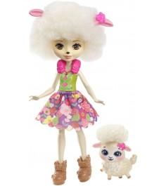 Кукла Enchantimals Лорна Барашка с питомцем FCG65