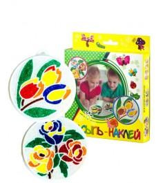 Набор для творчества насыпь на клей цветы Эра С-347-57238307