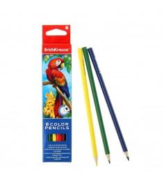 Цветные трехгранные карандаши artberry 6 цветов Erich Krause 32478