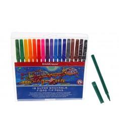 Набор фломастеров с цветными колпачками Erich Krause 33051