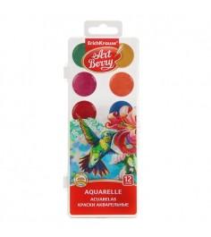Акварельные краски с уф защитой яркости 12 цветов Erich Krause 41724