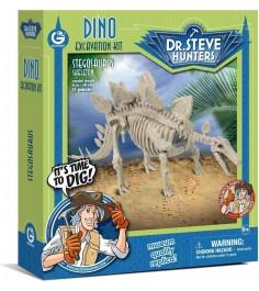 Набор для проведения раскопок Geoworld Dr Steve Hunters Стегозавр CL1667K