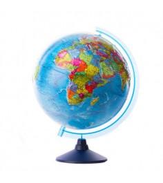Рельефный глобус земли классик евро политический Globen Ке013200230