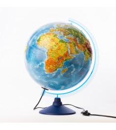 Глобус Globen ке013200233 физико-политический рельефный 320 с подсветкой евро