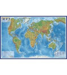 Карта Globen кн039 мир физический 1 29