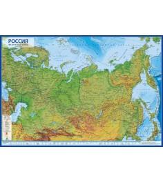 Карта Globen кн054 россия физическая 1 7 5
