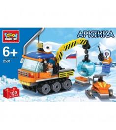 Конструктор арктика вездеход и снегоход Город мастеров UU-2501-R