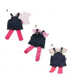 Набор одежды для кукол джинсовый комбинезон на лямках 45 50 см gotz 3402053