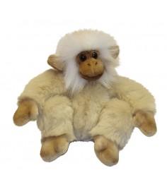 Мягкая игрушка Hansa обезьянка сидящая палевая 20 см 2838