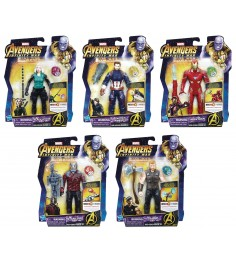 Avengers movie фигурка мстителя с камнем Hasbro E0605EU4