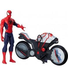 Набор человек паук и мотоцикл Hasbro B9767EU6-no