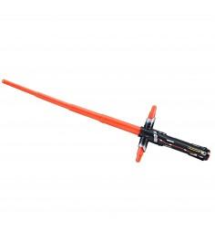 Раздвижной световой меч кайло рена звездные войны красный Hasbro C1567