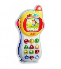 Развивающая игрушка умный телефон сине белый Play Smart Б26662