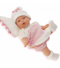 Кукла Juan Antonio Ланита на бежевой подушке 27 см 1111W