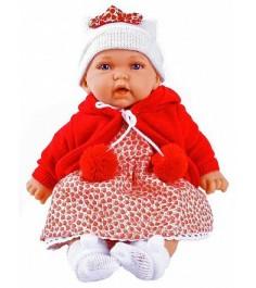 Кукла Juan Antonio Азалия в красном 27 см 1220R