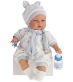 Кукла Juan Antonio София с аксессуарами в голубом 37см 1442B