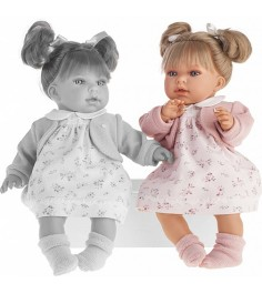 Кукла Juan Antonio Лорена в розовом 37см 1558P