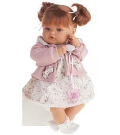 Кукла Juan Antonio Каталина в розовом 42см 1668P