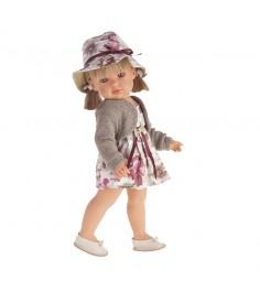 Кукла Белла Блондинка в шляпке 45 см Juan Antonio Munecas 2808P