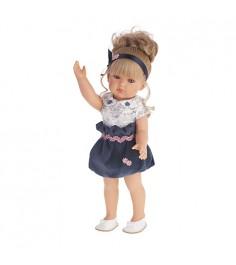Кукла Белла в синем платье 45 см Juan Antonio Munecas 2809B