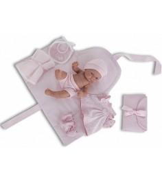 Кукла младенец Juan Antonio Карла с пеленальным комплектом 26см 4064P