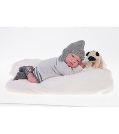 Кукла реборн Juan Antonio младенец Игнасио 40см 8111