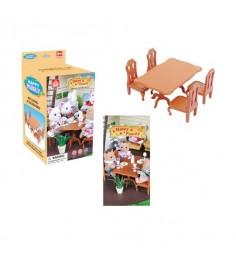 Игровой набор мебели для столовой happy family Junfa Toys 012-01B