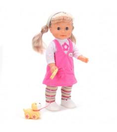 Интерактивная кукла с щенком 40 см Карапуз 16131-ru