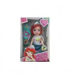 Кукла принцессы диснея русалочка ариэль 15 см Карапуз ariel002x