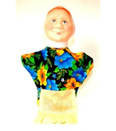 Кукла перчатка бабка Русский стиль 11010