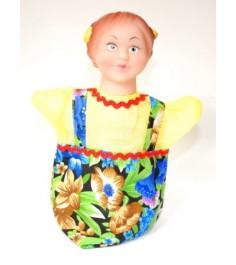 Кукла перчатка внучка Русский стиль 11011
