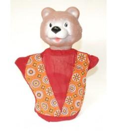Кукла перчатка медведь Русский стиль 11019