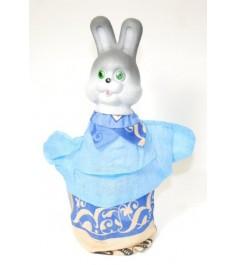 Кукла перчатка заяц Русский стиль 11021