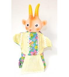 Кукла перчатка коза Русский стиль 11024