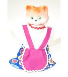 Кукла перчатка кошка Русский стиль 11079