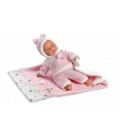 Кукла Llorens Juan Люсия 33 см с одеялом L 33403
